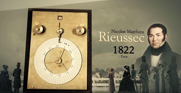 Tìm Hiểu Về Đồng Hồ Chronograph - Chức Năng Bấm Giờ Thể Thao Nicolas Rieussec Chronograph 1822