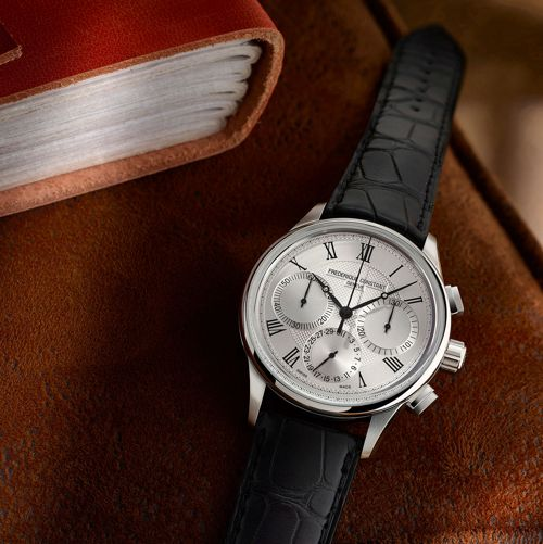 Tìm Hiểu Về Đồng Hồ Chronograph - Chức Năng Bấm Giờ Thể Thao Frederique Constant Flyback Chronograph Manufacture
