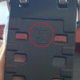 5 Bước Nhanh Nhất Phân Biệt Đồng Hồ G-Shock Chính Hãng Với Hàng Fake Dây