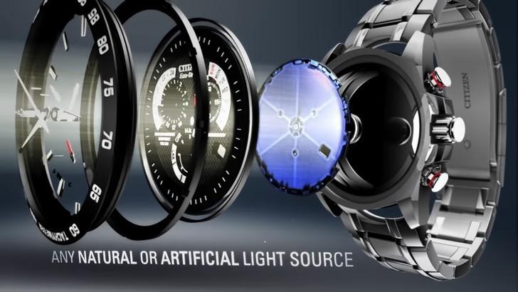 Đồng hồ Eco-Drive Citizen AR3010-65A năng lượng ánh sáng - Ảnh 3