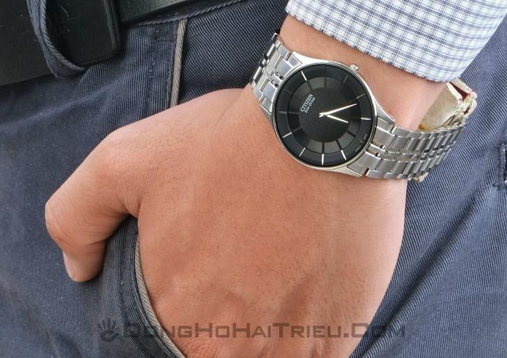 Đồng hồ nam Citizen AR3010-65E bộ máy năng lượng ánh sáng - Ảnh 1
