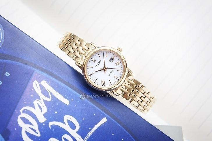 Đồng hồ nữ Citizen EW1582-54A bộ máy năng lượng ánh sáng - Ảnh 1
