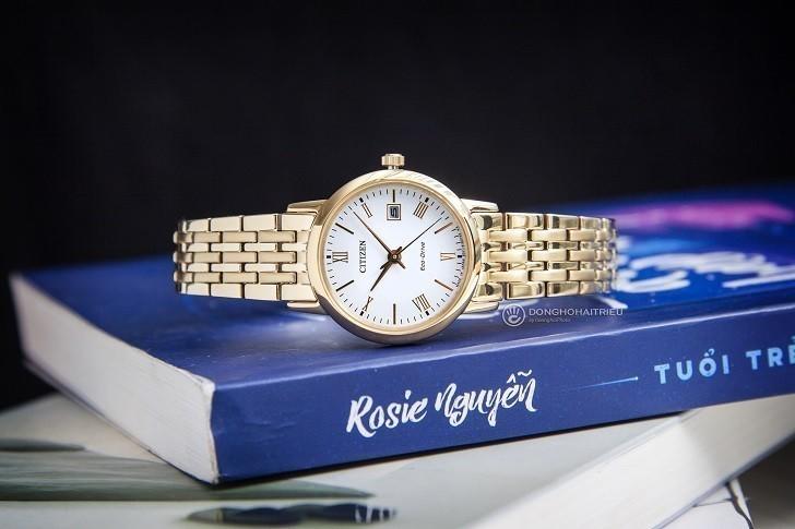 Đồng hồ nữ Citizen EW1582-54A bộ máy năng lượng ánh sáng - Ảnh 2