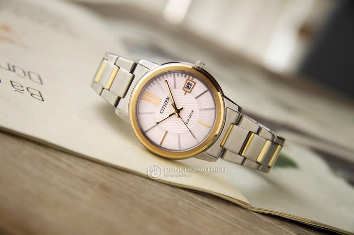Đồng hồ Citizen FE6014-59A năng lượng ánh sáng độc quyền - Ảnh 3