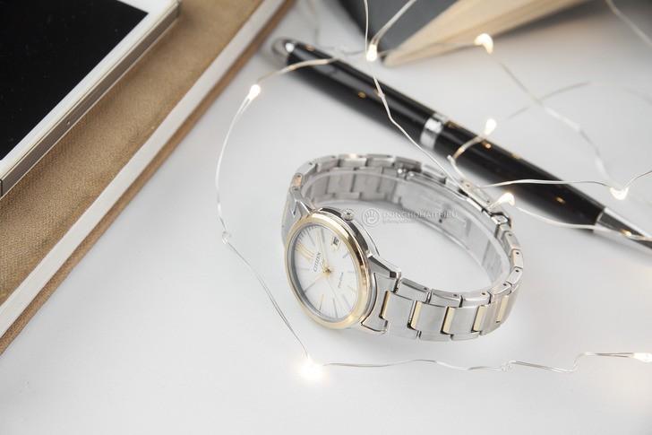 Đồng hồ Citizen FE6014-59A năng lượng ánh sáng độc quyền - Ảnh 6