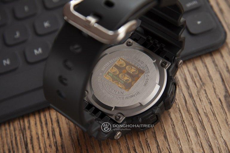 Cách Phân Biệt Đồng Hồ G-shock Chính Hãng Và G-shock Fake - Ảnh: G-Shock G-9100-1DR