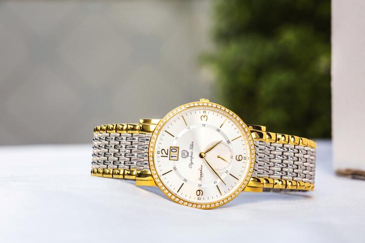 Đồng hồ Olym Pianus 58012DMSK-T: Giá tốt cho vẻ đẹp cao cấp - Ảnh 1