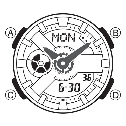 Hướng dẫn sử dụng đồng hồ Baby-G