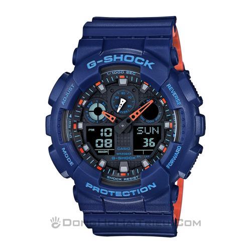 Shop Bán Đồng Hồ Casio G-SHOCK GA 100 Chính Hãng Giá Cực Rẻ SP2 GA-100L-2ADR