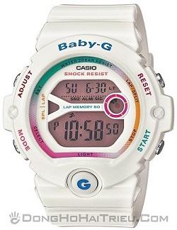 Shop Đồng Hồ Casio Chính Hãng Mặt Vuông Giảm Giá Cho trẻ Em - Baby-G BG-6903-7CDR