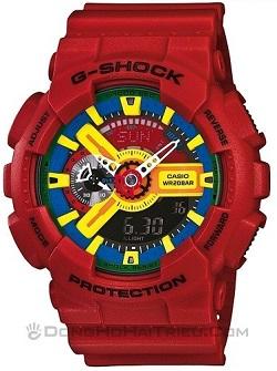 Shop Đồng Hồ Casio Chính Hãng Mặt Vuông Giảm Giá Cho trẻ Em - G-Shock GA-110FC-1ADR