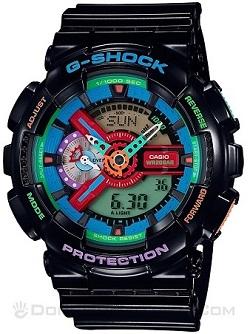 Shop Đồng Hồ Casio Chính Hãng Mặt Vuông Giảm Giá Cho trẻ Em - G-Shock GA-110MC-1ADR