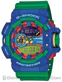 Shop Đồng Hồ Casio Chính Hãng Mặt Vuông Giảm Giá Cho trẻ Em - G-Shock GA-400-2ADR