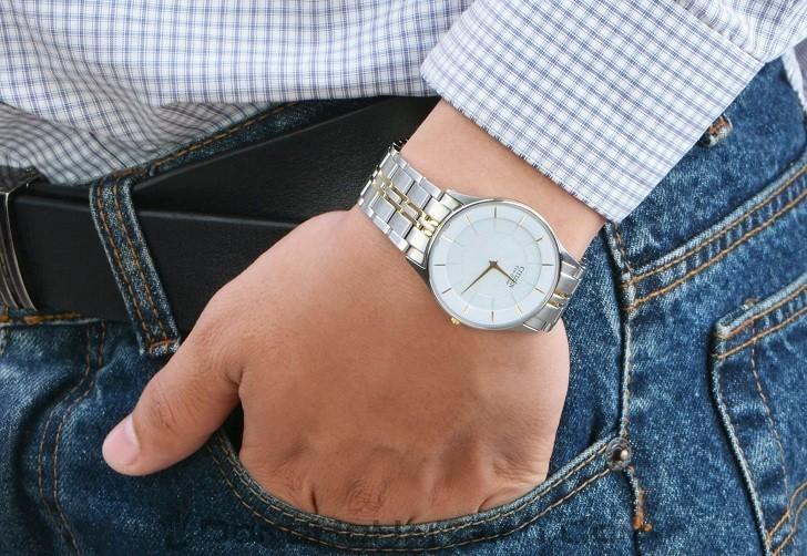 Đồng hồ Eco-Drive Citizen AR3014-56A năng lượng ánh sáng - Ảnh 8