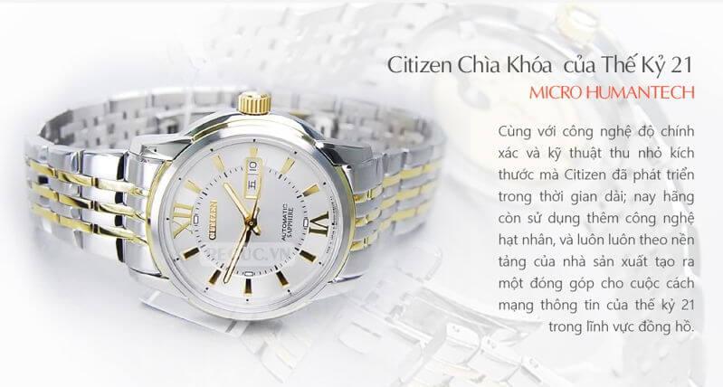 hoi-dap-cach-kiem-tra-dong-ho-citizen-automatic-chinh-hang