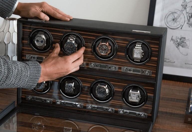 Cách lên dây cót đồng hồ cơ automatic - Ảnh: 6