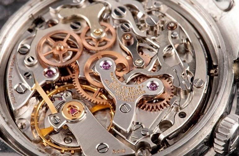 Hướng Dẫn Cách Sử Dụng Và Lên Dây Cót Đồng Hồ Cơ - Ảnh: Máy đồng hồ Rolex