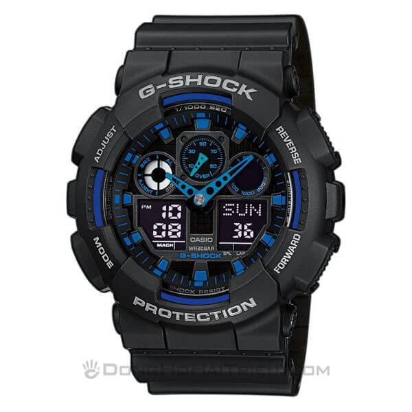 Mua Bán Đồng Hồ Điện Tử Thể Thao Nam, Nữ Đẹp Mẫu Mới - G-Shock GA-100-1A2DR