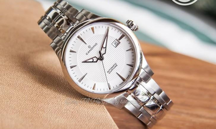 Đồng hồ Candino C4495/3 máy cơ, kính sapphire chống trầy - Ảnh 1