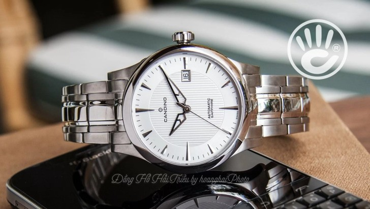 Đồng hồ Candino C4495/3 máy cơ, kính sapphire chống trầy - Ảnh 2
