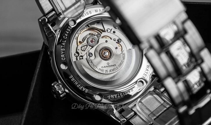 Đồng hồ Candino C4495/3 máy cơ, kính sapphire chống trầy - Ảnh 5
