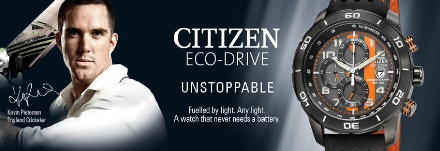 Citizen Eco Drive Banner