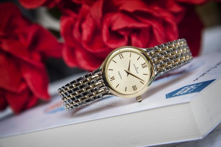 Đồng hồ Candino C4415/2 mạ vàng, kính Sapphire chống trầy - Ảnh 2