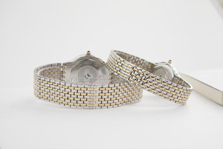 Đồng hồ Candino C4415/2 mạ vàng, kính Sapphire chống trầy - Ảnh 5