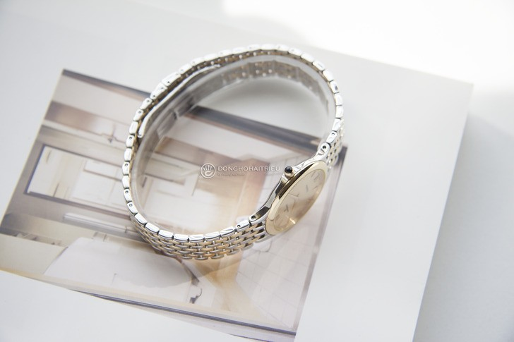 Đồng hồ Candino C4415/2 mạ vàng, kính Sapphire chống trầy - Ảnh 6