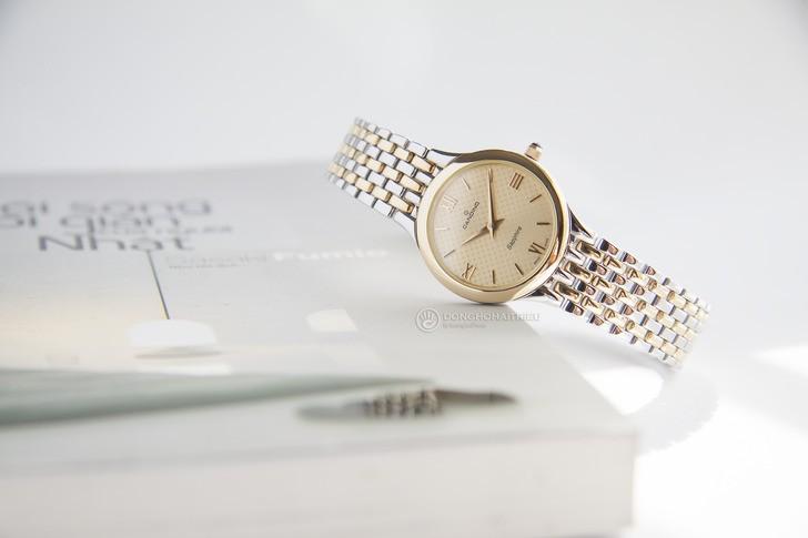 Đồng hồ Candino C4415/2 mạ vàng, kính Sapphire chống trầy - Ảnh 8