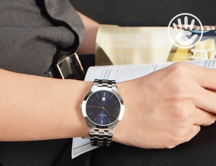 Candino C4539/2 chỉ 6 triệu cho một chiếc đồng hồ Swiss Made - Ảnh 3