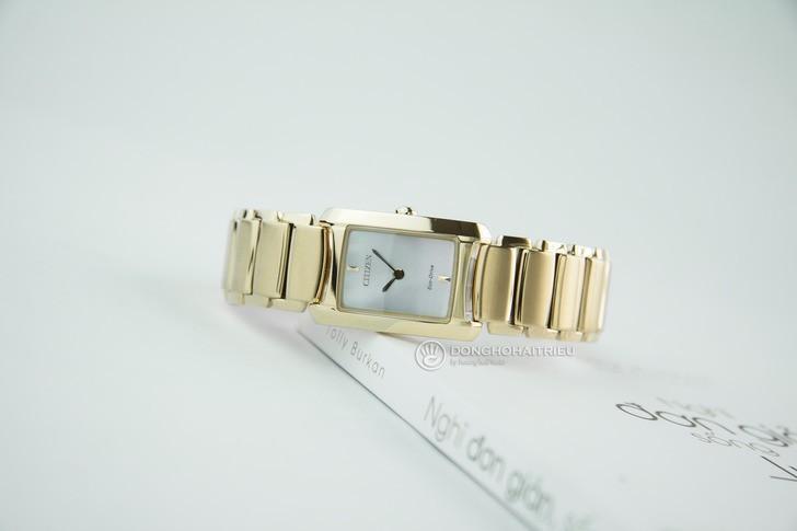 Đồng hồ nữ Citizen EG2973-55D: Thiết kế nhỏ gọn và hiện đại - Ảnh 3