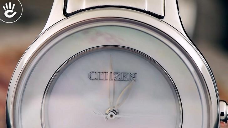Đồng hồ Eco-Drive Citizen EM0380-57D năng lượng ánh sáng - Ảnh 6