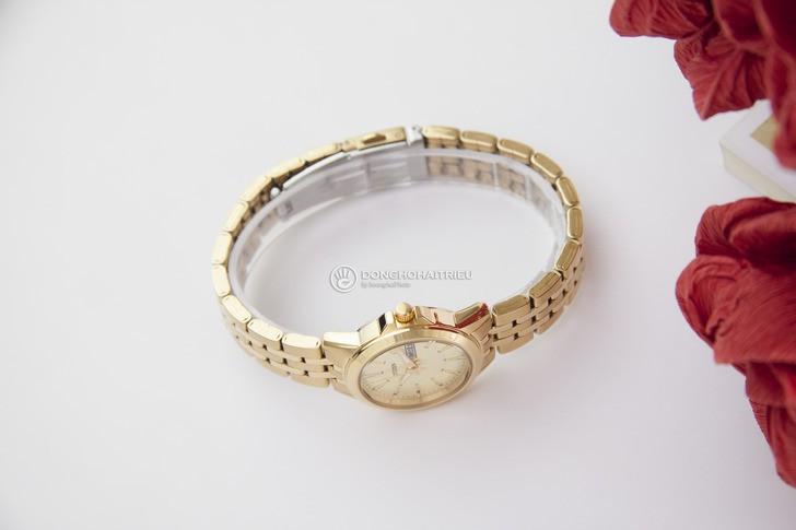 Đồng hồ Citizen EQ0603-59P máy quartz, mạ vàng sang trọng - Ảnh 5
