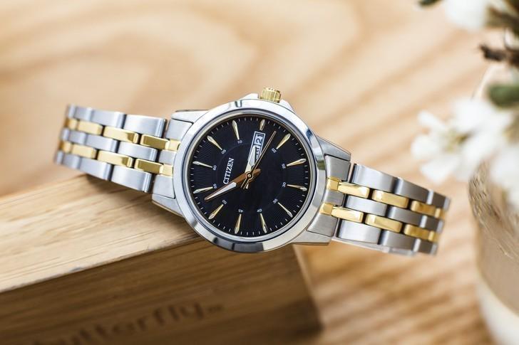 Đồng hồ nữ Citizen EQ0608-55E giá rẻ, thay pin miễn phí - Ảnh 1