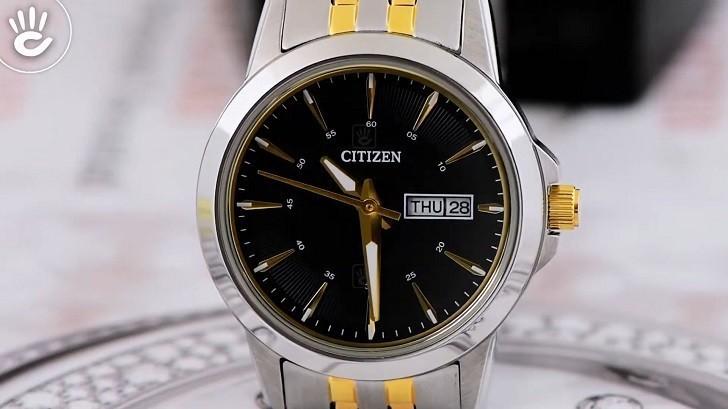 Đồng hồ nữ Citizen EQ0608-55E giá rẻ, thay pin miễn phí - Ảnh 2