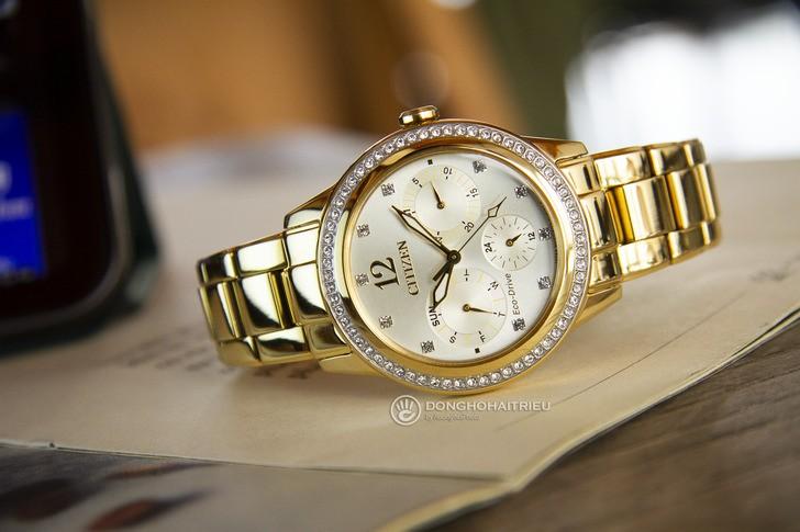 Đồng hồ Citizen FD2012-52P: Ấn tượng trong vẻ đẹp bắt mắt - Ảnh 1
