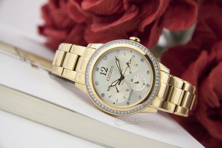 Đồng hồ Citizen FD2012-52P: Ấn tượng trong vẻ đẹp bắt mắt - Ảnh 2