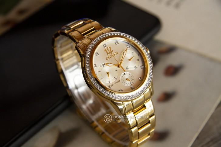 Đồng hồ Citizen FD2012-52P: Ấn tượng trong vẻ đẹp bắt mắt - Ảnh 6