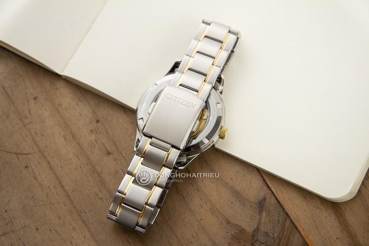 Đồng hồ nam Citizen NH7524-55A bộ máy cơ giá rẻ bất ngờ - Ảnh 5