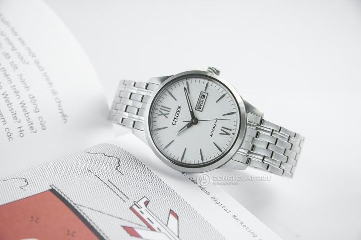 Đồng hồ Citizen NP4070-53A Automatic, trữ cót đến 40 giờ - Ảnh 1