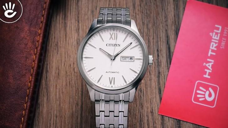 Đồng hồ Citizen NP4070-53A Automatic, trữ cót đến 40 giờ - Ảnh 3