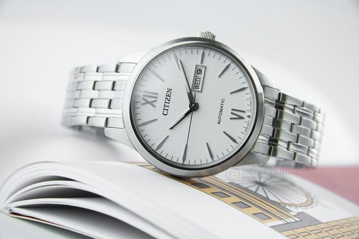 Đồng hồ Citizen NP4070-53A Automatic, trữ cót đến 40 giờ - Ảnh 7