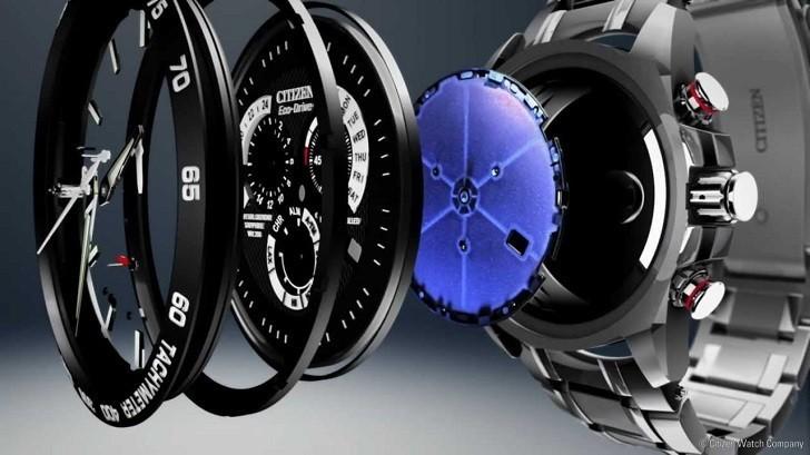 Đồng hồ Eco-Drive Citizen EW1580-50E năng lượng ánh sáng - Ảnh 3