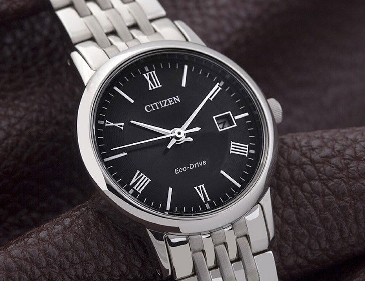 Đồng hồ Eco-Drive Citizen EW1580-50E năng lượng ánh sáng - Ảnh 7
