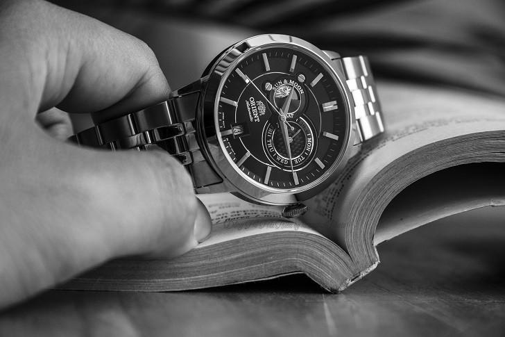 Đồng hồ Orient FET0P002B0: Máy cơ In-House, thiết kế lịch lãm - Ảnh: 3
