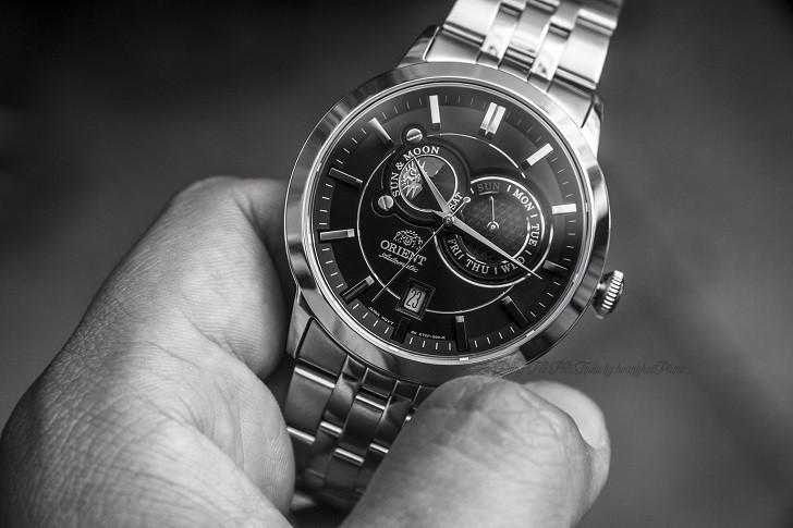 Đồng hồ Orient FET0P002B0: Máy cơ In-House, thiết kế lịch lãm - Ảnh: 4