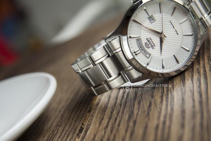 Đồng hồ Orient FEV0V001WH dây kim loại, lên cót tự động - Ảnh 2