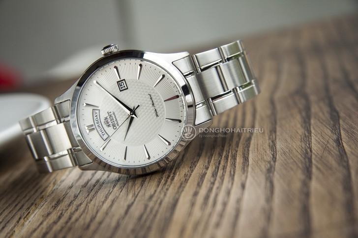 Đồng hồ Orient FEV0V001WH dây kim loại, lên cót tự động - Ảnh 6