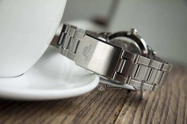 Đồng hồ Orient FEV0V001WH dây kim loại, lên cót tự động - Ảnh 4